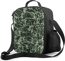 Insulated Lunch Bag Flowing Hunter Evergreen