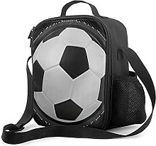 Insulated Lunch Bag Football Lunch Box with Padded