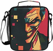 Insulated Lunch Bag Funny Joker Lunch Box Cooler