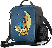 Insulated Lunch Bag Garfield Lunch Box with Padded