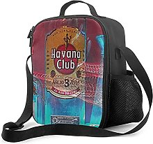 Insulated Lunch Bag Havana Club Lunch Box with