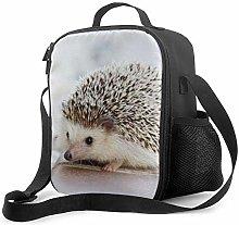 Insulated Lunch Bag Hedgehog Cooler Bag Portable