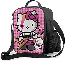 Insulated Lunch Bag Hello Kitty Lunch Box with