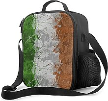 Insulated Lunch Bag Italian Flag Lunch Box with