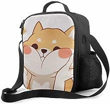 Insulated Lunch Bag Kawaii Shiba Cooler Bag
