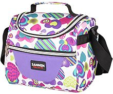 Insulated Lunch Bag,Kids School Lunch Cooler Bag
