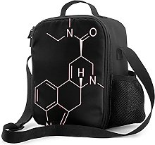 Insulated Lunch Bag LSD Lunch Box with Padded