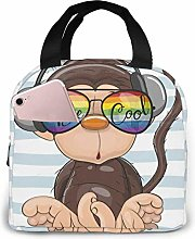 Insulated Lunch Bag Lunch Kit, Cool Cartoon Cute