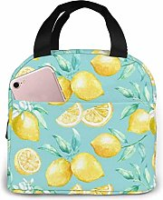 Insulated Lunch Bag Lunch Kit, Painting Yellow