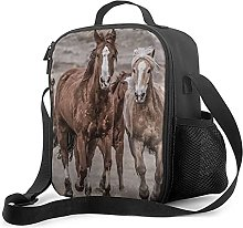 Insulated Lunch Bag Mercedes Horses Lunch Box with