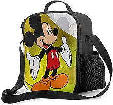 Insulated Lunch Bag Mickey Mouse Lunch Box with