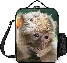 Insulated Lunch Bag Monkey Lunch Box Portable Tote