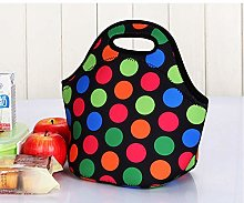 Insulated Lunch Bag, Neoprene Lunch Tote Bag,