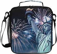Insulated Lunch Bag New York Statue of Liberty