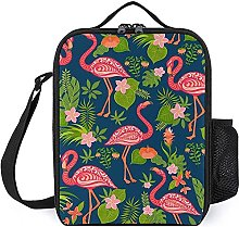 Insulated Lunch Bag Pink Flamingo Lunch Box