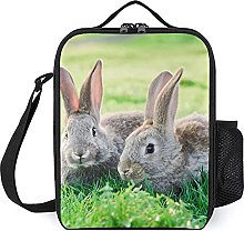 Insulated Lunch Bag Rabbit Lunch Box Portable Tote