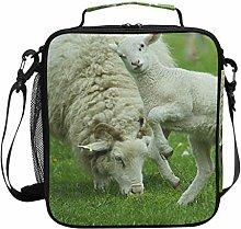 Insulated Lunch Bag Sheep Fun Animal Lamb Lunch