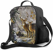 Insulated Lunch Bag The Real Tree Camouflage Deer