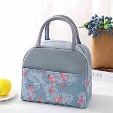 Insulated Lunch Bag Thermal Stripe Tote Bags