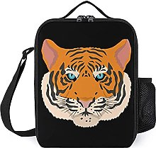 Insulated Lunch Bag Tiger Lunch Box Portable Tote