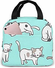 Insulated Lunch Bag Tote Bag for Women Men Adults