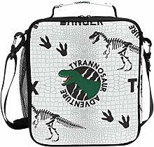Insulated Lunch Bag Tyrannosaur Adventure Dinosaur