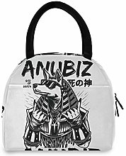 Insulated Lunch Bag Women - Cool Anubiz Warm Lunch