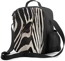 Insulated Lunch Bag Zebra Cooler Bag Portable