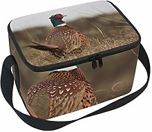 Insulated Lunch Pheasant Bird Poultry Animal Box
