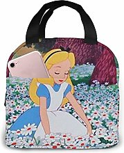 Insulated Lunch Tote Bag for Men Women, Alice in