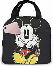Insulated Lunch Tote Bag for Men Women, Mickey