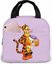 Insulated Lunch Tote Bag for Men Women, Tigger