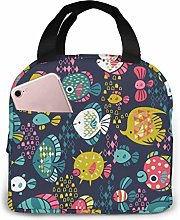 Insulated Lunch Tote,Picnic Cooler Tote Box,School