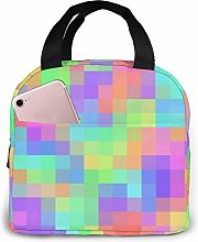 Insulated Lunch Tote,Reusable Lunch Box,School