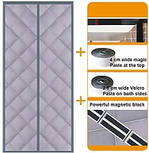 Insulated Magnetic Screen Door, Winter Household