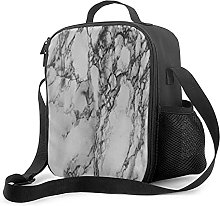 Insulated Meal Prep Lunch Bag White Background