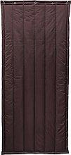 Insulated Patio Door Curtain Heavy Duty Winter