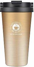 Insulated Travel Mug Reusable Coffee Cups with