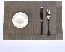 Insulation Placemat Coaster-European Western Food