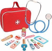Intee Pretend Doctors Play Set, 17Pcs Role Play