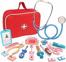 Intee Pretend Doctors Play Set, 26Pcs Role Play