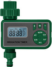 Intelligent Water Irrigation Controller with LCD