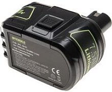 INTENSILO Battery compatible with Ryobi CRP-1801,