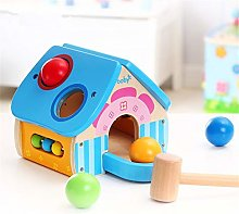 Interactive Toys for Children Wooden Toy House