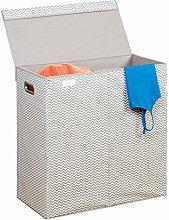 InterDesign Axis Foldable Laundry Washing Basket