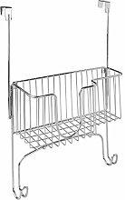 InterDesign Basic Iron and Ironing Board Hanger,