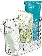 InterDesign Basic Mini Suction Shower Shelf,