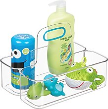 InterDesign IDjr Kids Shower Basket, Plastic