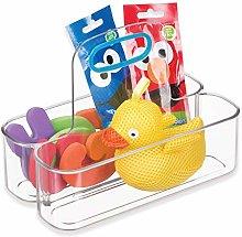 InterDesign IDjr Small Kids Shower Basket, Plastic