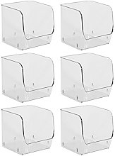 InterDesign Linus Stacking Organizer Bin, Small,